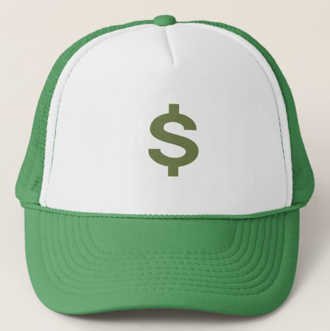 Money Trucker Hat